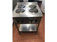 Falcon Pro Lite Electric 4 ring Boiling Top, with addition table stand. Also Grill to match