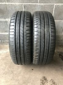 2 x 205 60 16 MICHELIN ENERGY SAVER
