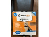 FREE dog anti anxiety thunder shirt, size small