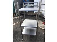 Commercial used shelf table
