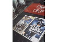 2 Wii games for sale Michael Jackson the experience and ragman 2""