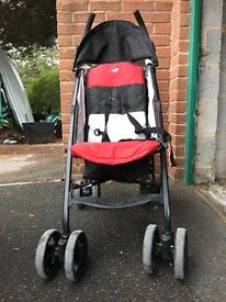 Joie Nitro Stroller with rain cover
