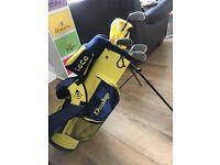 Children's Dunlop Golf Bag & Clubs