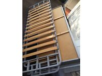 Sofa bed frame without mattresses. FREE