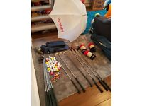 Right Hand Ben Sayers Full Golf Set and Many Many Accessories