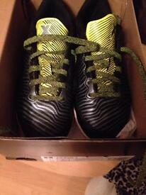 Boys adidas Astro trainers. Size1