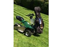 Fairway rider single golf buggy - now sold