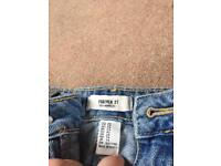 FOREVER 21 JEANS UK 29 (size 12/14)