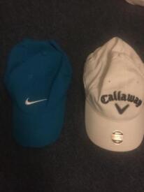 Nike and Calloway golf hats