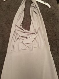 2 x Size 8 formal dresses ( 1 black and 1 silver) - sold together or individually