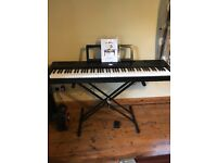 SDP- 3 Stage Piano BRAND NEW with pedal, stand and headphones