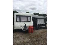 2008 ELDDIS AVANTE CLUB 544 CARAVAN WITH FULL AWNING IMMACULATE FIXED BED
