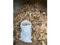 High Quality Seasoned Logs in Sacks - Free Delivery