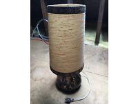 Large, China Base Table Lamp