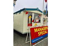 Static caravan for sale ocean edge holiday park Lake District only a stone throw away !