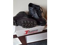 Steel Toecap Safety Boots Size 4