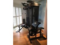 superb Multi-gym and free weights worth £3500