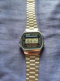 Classic Casio Chronograph Watch (NEW)