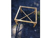 Rattan Wicker Table no glass - free