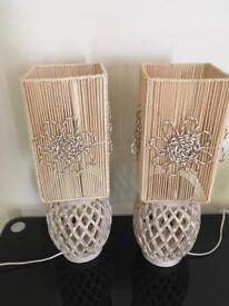 Beautiful table lamps - set