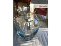 Bohemia crystalex Vase boxed