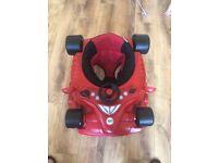 Racing car baby waker