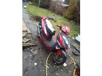 Lexmoto gladiator 125 cc 2013