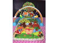 Used VTech Glow n Giggle Playmat & Play Gym (EAST HAM)