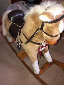 Mamas and papas large rocking horse £30 ovno