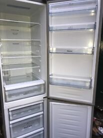 Hisense fridge freezer silver colour... free delivery