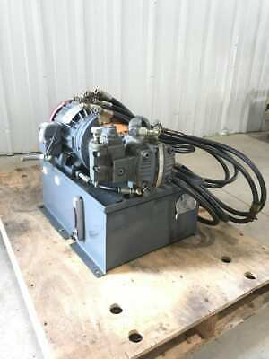 Atlantic Fluid Power Af-10595 Hydraulic Power Unit 7.5 Gpm