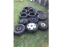 Jobs lots of car wheels and tyres