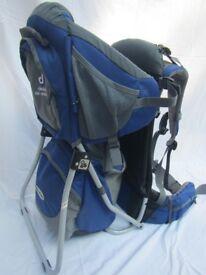 Deuter Kid Comfort II back pack adjustable child carrier