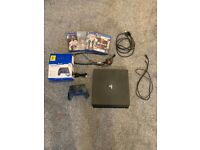 Sony PS4 500GB Jet Black console with Snake Byte controller and Fifa 21 and more