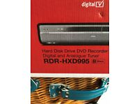 Sony RDR- HXD995 Hard disc drive DVD recorder (DVD player not working)