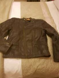 Guide London real leather jacket mens size L