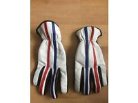 Spada Leather Motorcycle Scooter Gloves XL NEW