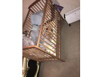 Baby cot needs to be gone! Well kept