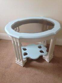 Unusual Grecian style coffee table