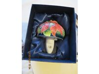 Floral Old Tupton Ware plug in lamp