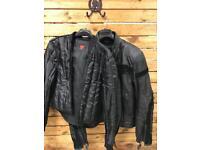 Dainese Motorbike/Motorcycle Leather Jacket,Size EU48