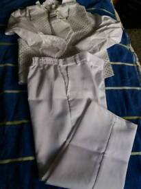 Baptism outfit 4-5 years white