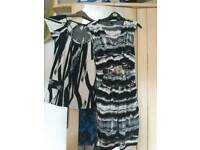 ladies dress and top size 10