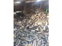log netted bags hardwood