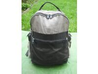 Small Black Fabric Backpack for £4.00