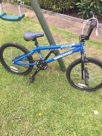 BMX Mongoose bike aged 9+