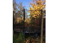 12ft trampoline good condition, needs new foam surround for springs, buyer to dismantal, offers