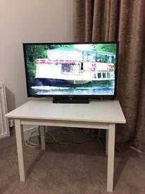 Ikea white TV Table