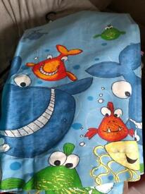 Childrens bedroom curtains from Next