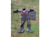 Aqualung Dry Suit and Bag